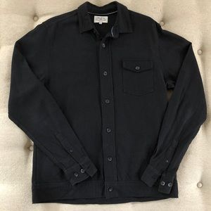 Made In The Shade Homme Black Shacket Jacket M